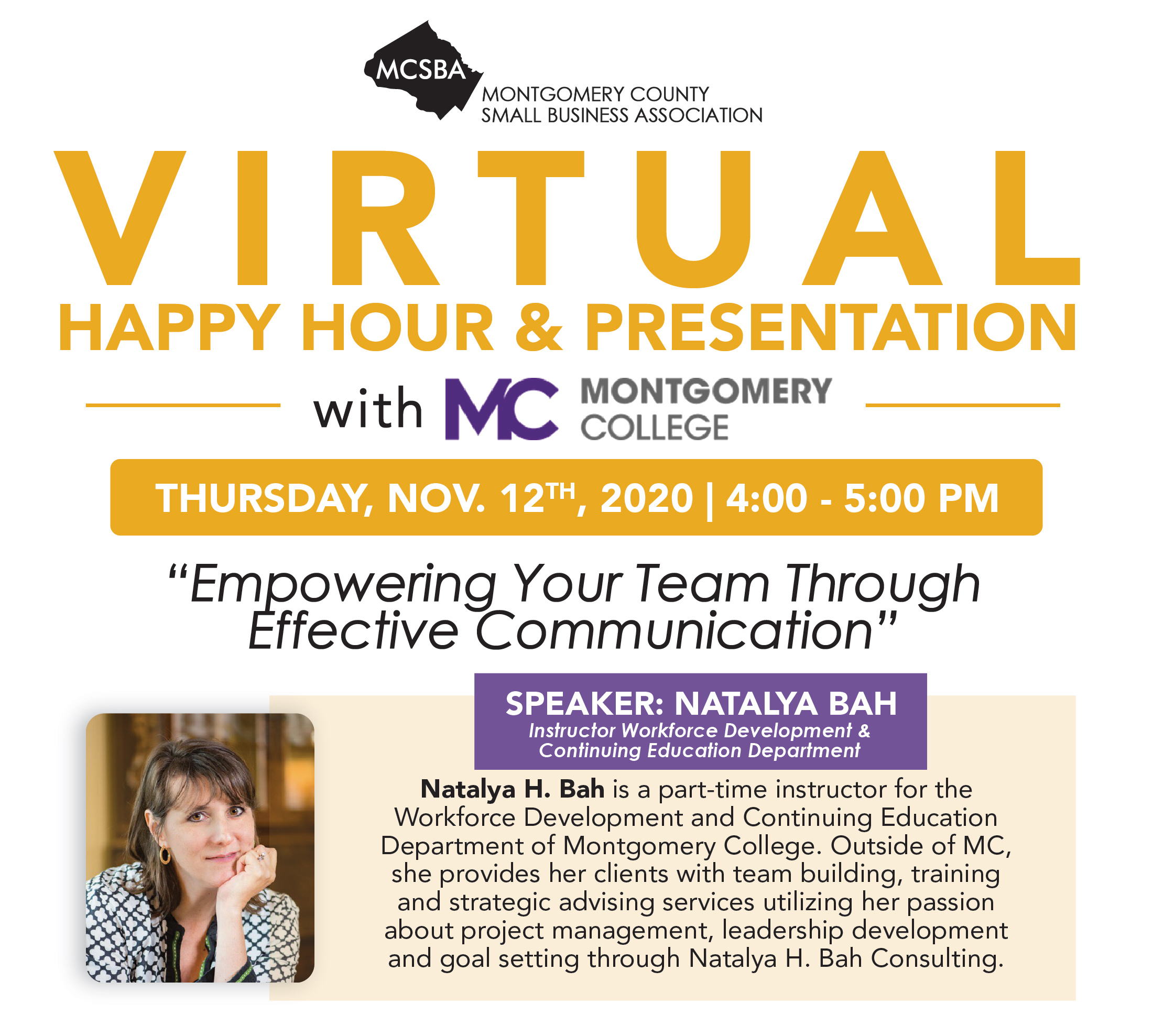 Empowering Your Team Through Effective Communication, 11/12/2020