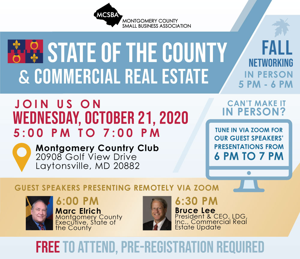 State of the County & Commercial Real Estate, 10/21/2020
